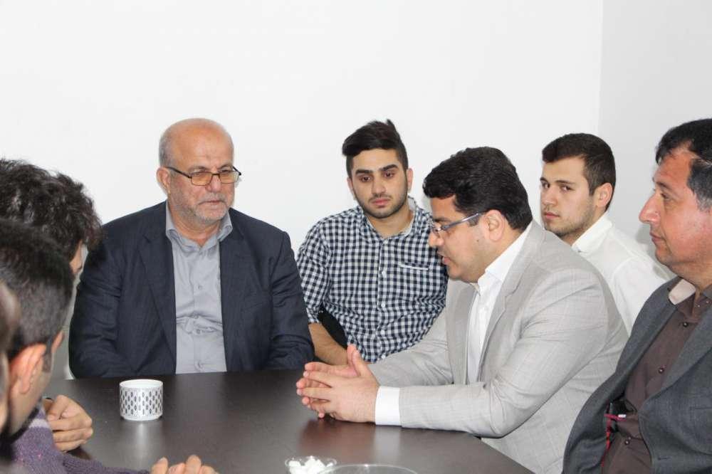 گزارش تصویری از دیدار نوروزی مهندس رضوان هاشم ورزی و گروه کناریها با منتخب مردم بابلسر و فریدونکنار سردار نانواکناری