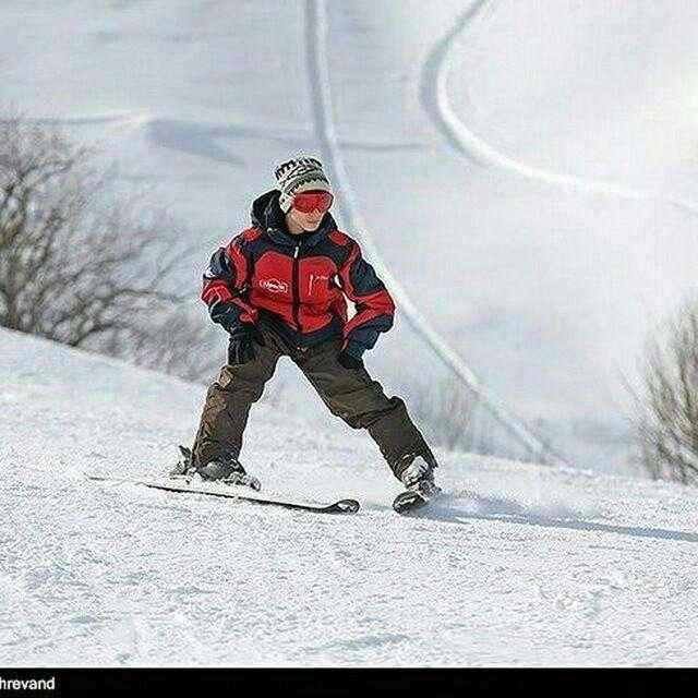 آینده ای درخشان برای ابوالفضل خطیبی قهرمان اسکی ایران