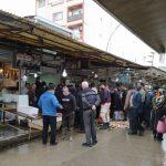 ارزانی ماهی ، سوغات آب پشت کولاک دریای مازندران