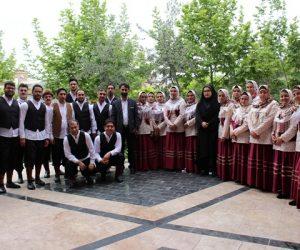 کسب رتبه اول استان توسط گروه سرود فرهنگیان فریدونکنار
