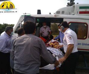 آتشسوزی منزل مسکونی در محمودآباد با ۳ مصدوم/ مصدومان از طریق اورژانس هوایی از فریدونکنار به ساری منتقل شدند